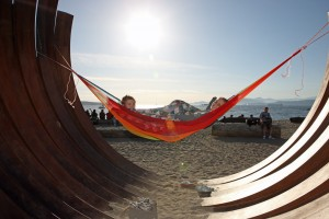 217.5 Arc X 13 by Bernar Vernet on Sunset Beach