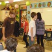 L2 (2) - 2012 Carisbrooke - student perform Walking Figures poem in class (K Tong)