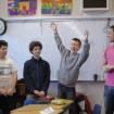 L20 (1) - 2013 Westcot in class with poet artist (Dan Pierce)