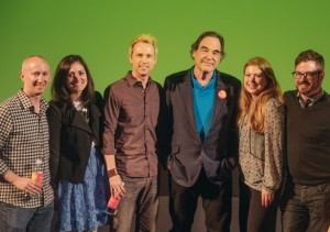 Oliver Stone Master Class at SFU Woodward's