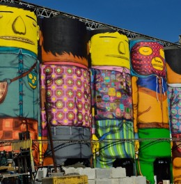 OpenAir osgemeos giants front full view