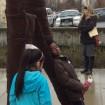 BIG IDEAS Ecole Bilingue student at Walking Figures