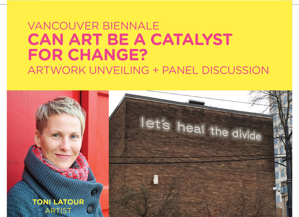 Can art be a catalyst for change? Art unveiling and panel discussion