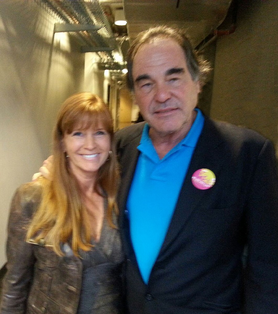Oliver Stone and Suzette