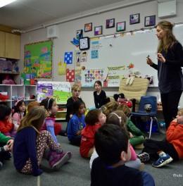 BIG IDEAS Ecole Bilingue Gr 1 Artist Workshop