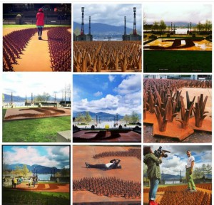 Ai Weiwei.F GRASS.HarbourGreenPark in Vancouver.montage.2014 - 2016 project.FullSizeRender (4)