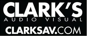 Clark's AV logo
