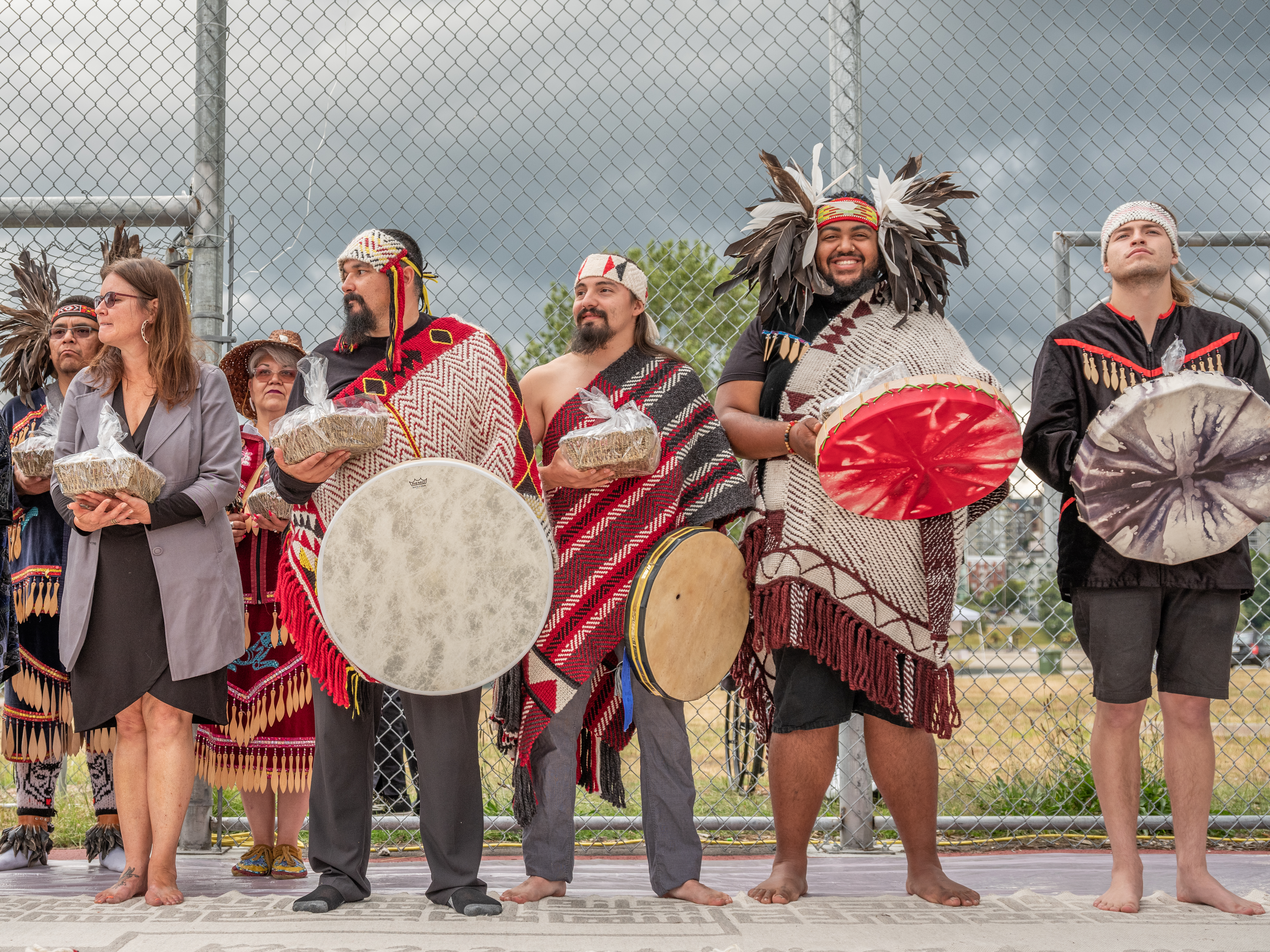 Threads Through Time opening ceremony, 2019