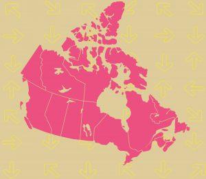 VB map canada